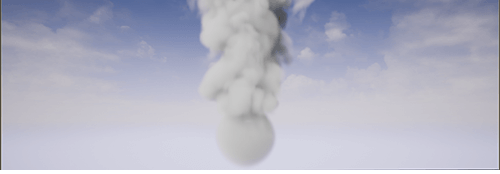 Unreal中的烟雾火焰流体模拟