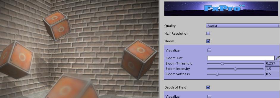 屏幕特效插件分析 | FxPro & Beautify